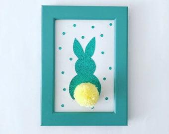 Pompom rabbit frame