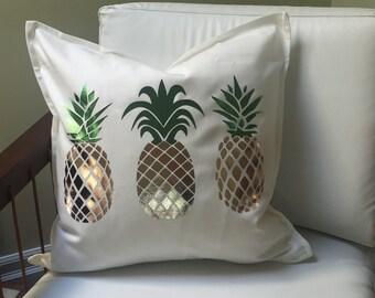 PINEAPPLES decorative pillow