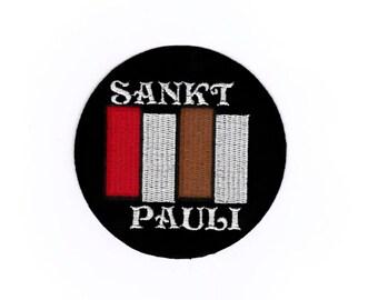 "St Pauli Aufnäher / patch / patch / iron on sew ""St. Pauli"""