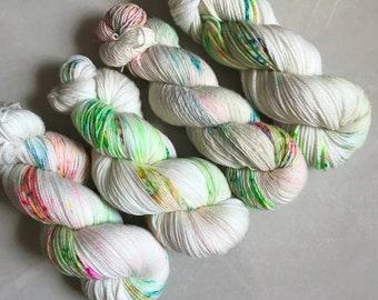 Nyasa Aran 'Popping Candy' Hand Dyed Yarn