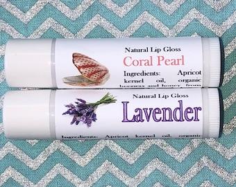 Natural Lip Gloss-Lavender