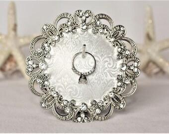Ring Holder Frame Ring Holder Wedding Ring Holder Sparkly