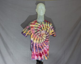 Handmade Ice Dye T-Shirt: Large 16