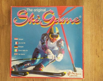 The original Ski Game  vintage/retro  Alberto Tomba
