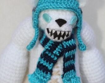 PATTERN: Frost Fire Tibbers Amigurumi Doll