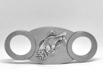 Bass Fishing Cigar Cutter