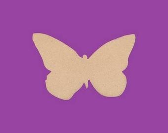 Support medium MDF blank Butterfly