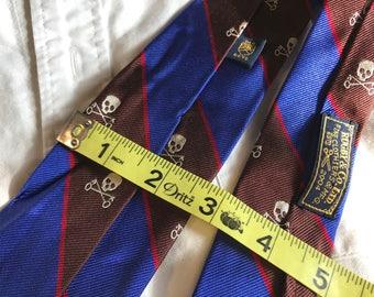 Rugby Ralph Lauren Skull Cross Keys Tie