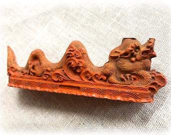 Vintage Dragon Cinnabar Ink Stick