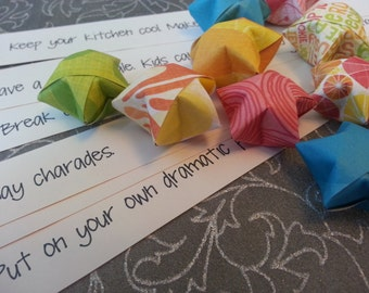 Summer Fun Origami Wishing Stars for the Whole Family