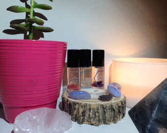 Essential Oil Roll-On Perfume With Crystals