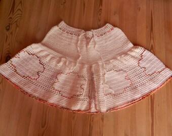 Adult crocheted shoulder wrap