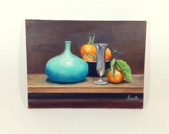 The Mandarins , Original Oil Painting , Modern Art , Wall Art , Pop Art , Photorealism , Impressionism , Funk Art , Art Movement