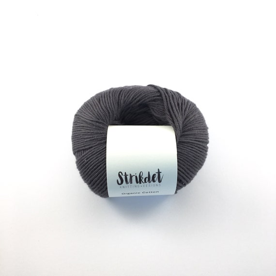 STRIKDET Organic Cotton Dusty Blue / Økologisk Bomuld - Støvet Blå