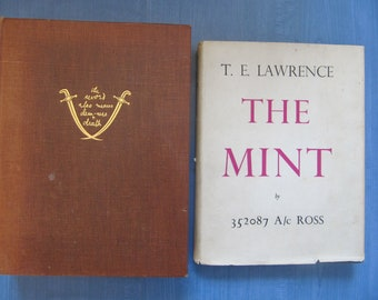 T.E. Lawrence: Seven Pillars of Wisdom + The Mint - First editions