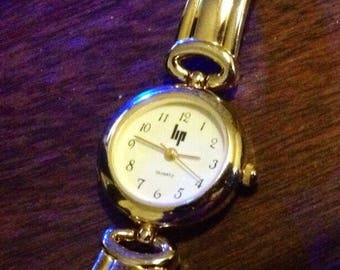 Vintage French 1980s Ladies LIP Watch