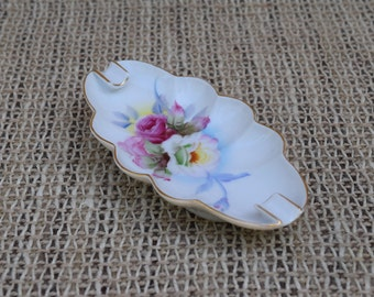 Lefton China Hand Painted Ashtray Made in Japan