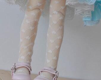 BJD Heart socks for MSD SD yosd size azone