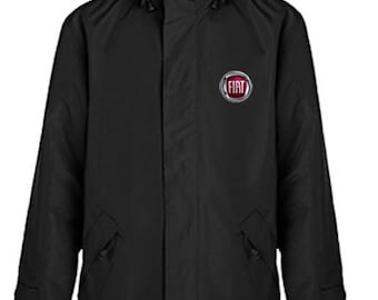 Fiat Winter JacketQuilted Polyester Wind and Water Resistant