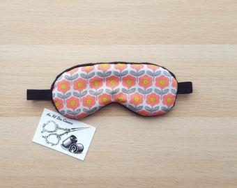 Sleeping mask / / sleep mask / / sleep accessory / / sleep - powdered flowers accessory