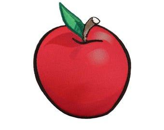 Apple Snow White Iron On Applique, Genuine Disney Iron On Patch, Snow White Patch, Red Apple Patch, Snow White Applique, Disney Applique