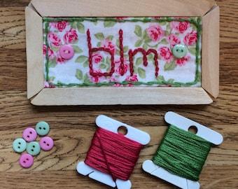 "Sweet ""Black Lives Matter"" Embroidery Plank Magnet"