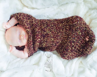 Custom Handmade Lily Cocoon,  Baby Nest, Baby Pod, Photography Prop