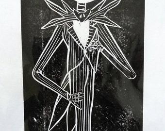Jack Skellington Print