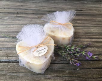 Unique Bridal Shower Favors, Heart Soap Wedding Favors, Bachelorette Party Favors, Lavender Milk Soap Favors 35