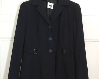 DKNY BLAZER ·Black Jacket ·US 8, uk 10, de 36 / S