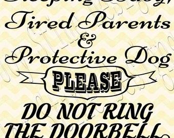 Dormir bebé cansado a padres SVG, PNG, JPG