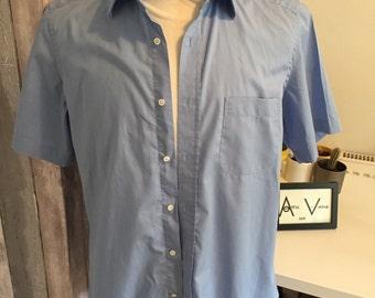 Blue Hugo Boss Shirt