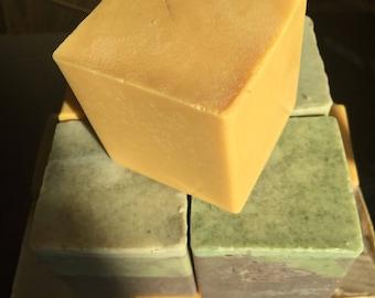 Frankincense Soap, Myrrh Soap, Honey Gold Soap, Handmade Soap, Essential Oil Soap, All Natural Soap