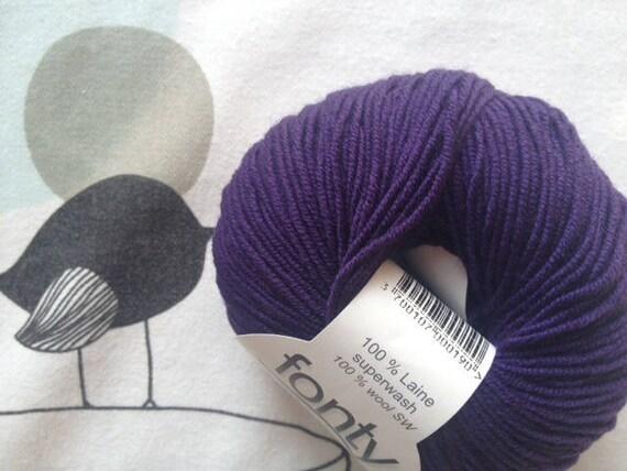 Purple - FONTY GUERET wool