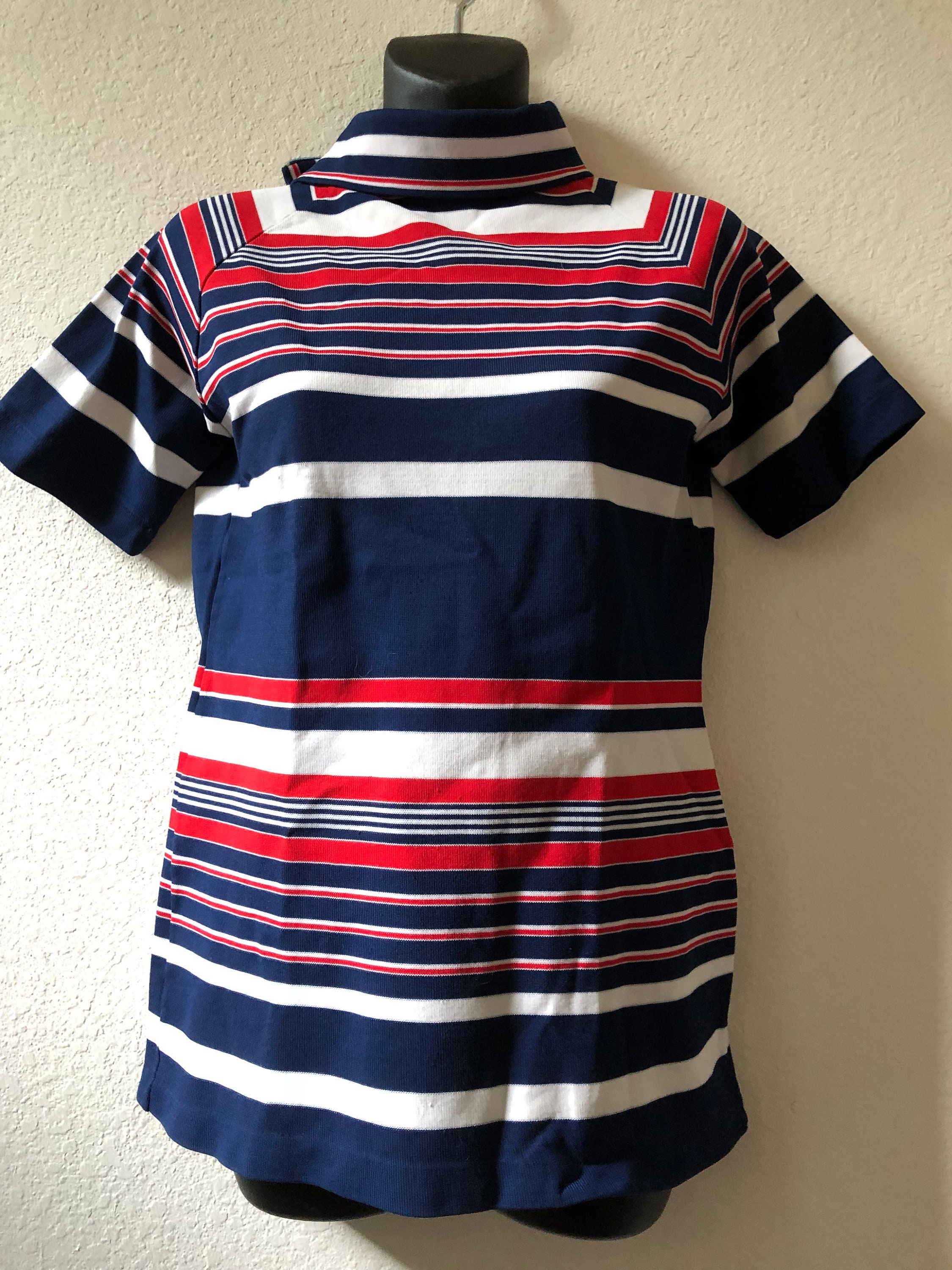 f5ae97d939 4th of July shirt red white blue blouse turtleneck blouse