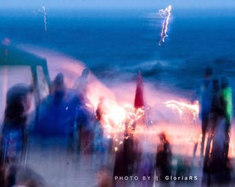 Abstract Fourth Of July Summer Photo Photography