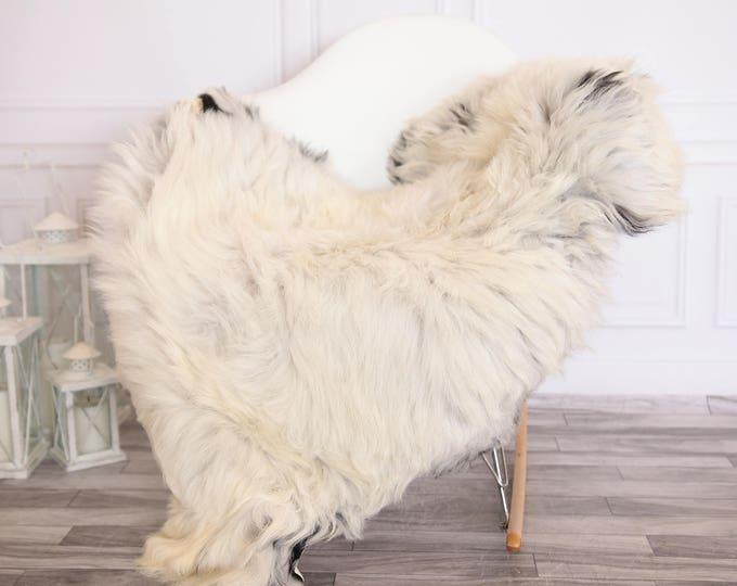 Organic Sheepskin Rug, Real Sheepskin Rug, Gute Sheepskin,Ivory Sheepskin Rug #GUTEFEB13