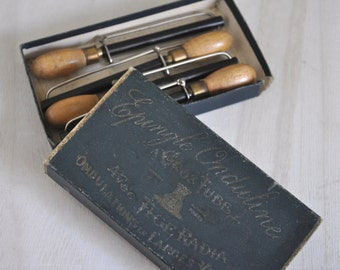 Antique French Hair Styling Tools