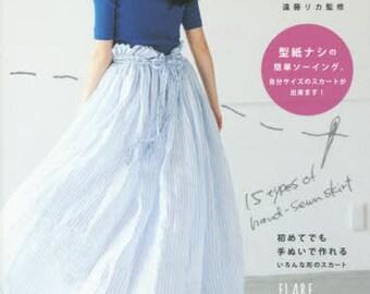 Handsewn Cute Skirts - Japanese Craft Book