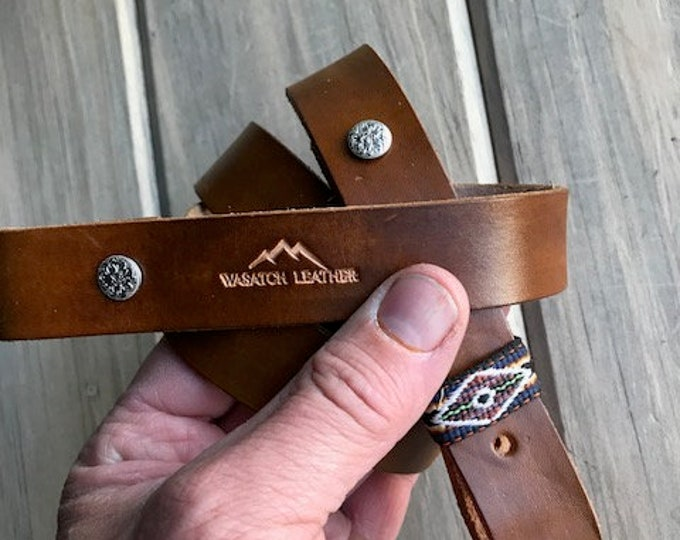1-inch Tan Rifle Sling
