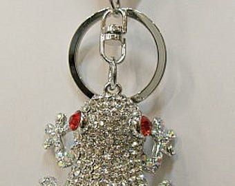 Frog Key Chain or Purse Decoration
