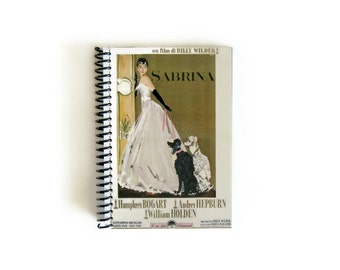Audrey Hepburn SabrinaA6 Notebook