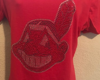 Cleveland indian chief wahoo t-shirt