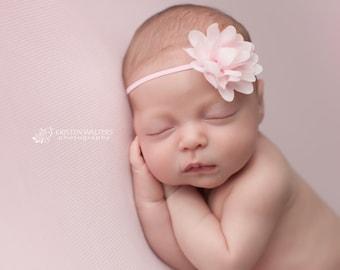 FREE SHIPPING! Newborn Headband, Baby Girl Headband, Baby Headbands, Pink Newborn Headband, Pink Baby Headband