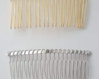 GOLD/SILVER HAIR Comb
