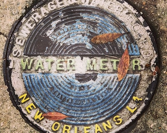 New Orleans Water Meter Cover Photo