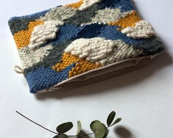 Wool woven purse