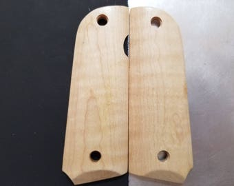 Curly Maple 1911 grips - Full size