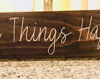 make things happen etsy. Black Bedroom Furniture Sets. Home Design Ideas