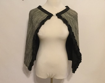 Tweed Cape/Womams Cape/Shawl